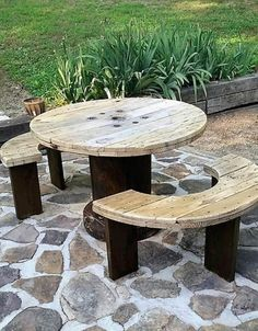wood pallet cable spool recycling