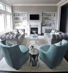 38 The Best Relaxing Living Room Design Ideas - living room furniture layout Elegant Living Room, Formal Living Rooms, Living Room Grey, Home Living Room, Apartment Living, Living Room Designs, Rustic Apartment, Living Room Furniture Layout, Apartment Furniture