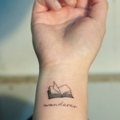 One Word Tattoos every book lover can appreciate | Bustle