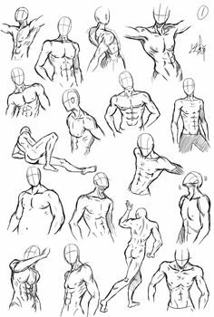 Drawing reference male different poses Human Anatomy Drawing, Drawing Body Poses, Body Reference Drawing, Anatomy Art, Drawing Reference Poses, Male Pose Reference, Drawing Drawing, Body Sketches, Anatomy Sketches