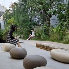 Landscape Gardening Ideas For Small Gardens Landscape Plaza, Landscape Structure, Landscape Elements, Green Landscape, Landscape Design, Landscape Borders, Architecture Courtyard, Space Architecture, Landscaping Tools