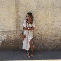 thecovetedmuse: Summer wear / @aritzia dress (at Port Of Monaco, Monte Carlo)