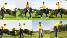 Golf Rules Learn the basics of the golf swing in these photo animations. - Learn the basics of the golf swing in these photo animations. Golf Tips Driving, Volleyball Tips, Golf Practice, Golf Instruction, New Golf, Golf Downswing, Golf Exercises, Golf Tips For Beginners, Golf Player