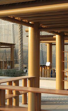 SHIGERU BAN ARCHITECTS   Abu Dhabi Art Pavilion