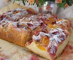 W Mojej Kuchni Lubię.. : ciasto drożdżowe z owocami...