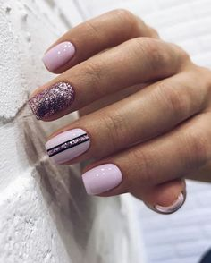 Square Geometric Nail nail art which is right for Winter. Nails Trends Nothing spells Winter higher than bendable colors like Bunbury, Green Winter Nail Art, Winter Nails, Cute Nails, Pretty Nails, Hair And Nails, My Nails, Nail Design Spring, Geometric Nail, Gorgeous Nails