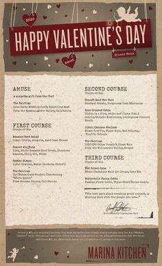 valentine's day menu san diego