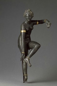 Aphrodite unfastening her sandal Roman period Provenance: Syria?