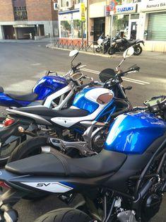 Tres generaciones Suzuki: SV 650, Gladius, SV 650 AL6