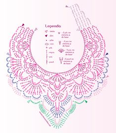 Crochet Maxi Necklace - Chart