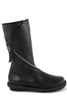 Trippen shoes-onion black-black boots-stivale in pelle-Trippen shop online
