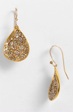 Alexis Bittar 'Miss Havisham' Crystal Encrusted Teardrop Earring