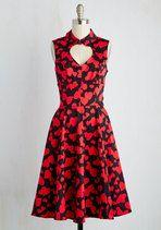 Owl about That! Dress | Mod Retro Vintage Dresses | ModCloth.com