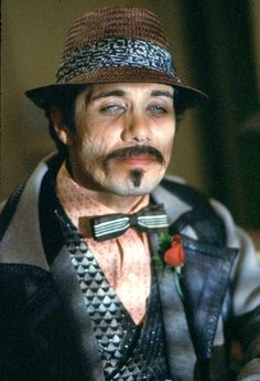 The Fashion of Blade Runner. Gaff (Edward James Olmos).