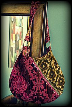 I'll never forget finding my first carpet bag in High School at a thriftstore with my mom. It's become an obsession now. - Leslie