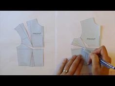 Another New Take on the Full Bust Adjustment | In-House Patterns - The Workroom | Bloglovin'