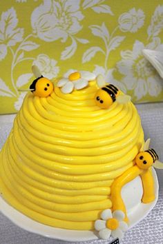 black and yellow sweet as honey bee themed sip and see dessert table bee hive cake with honey bees