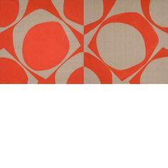 Patrick Scott, 1921 - 2014 Rosc Diptych, 1967 Acrylic on canvas 122 x 243 cm Donation, the artist | 2013 IMMA.3812 On display – Patrick Scott: Image Space Light, Irish Museum of Modern Art, Garden Galleries, 15/02/2014 - 18/05/2014