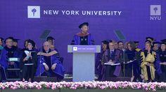 NYU Commencement 2017--Pharrell WIlliams Remarks
