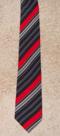 d8117e1f3e9b Bernini Beverly Hills Mens Gray Black 100% Silk Necktie Tie Made in Italy |  eBay. Giorgio ArmaniBeverly ...