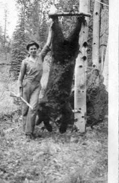 Vintage hunting photo