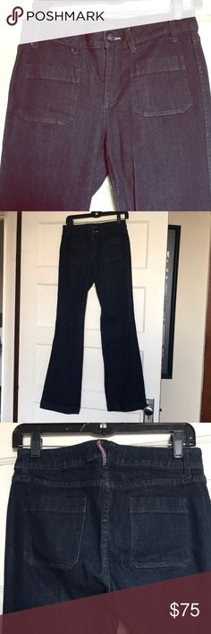 """Juicy Couture denim trousers / flare jeans 28 Juicy Couture denim trousers / flare jeans 28 with stretch 31"""" inseam Juicy Couture Jeans Flare & Wide Leg"""