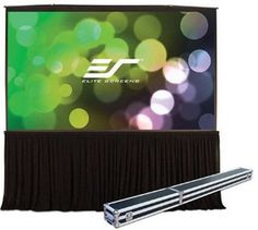Screens QuickStand series is designed to be the fastest, hassle-free, large venue projection. The QuickStand series features Elite Scree. Outdoor Projector Screens, Diy Projection Screen, Rear Projection, Dry Erase Whiteboard, Train Room, Matte Material, Home Theater Projectors, Exchange Rate, Meeting Rooms