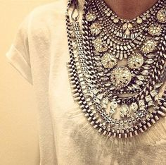 I love this necklace because it reminds me so much of my traditional necklace