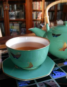 Butterfly Tea Set by Something To See, via Flickr
