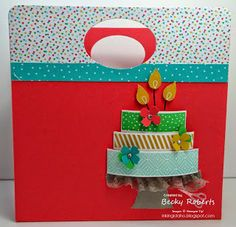 Build a Birthday Accordion File by Becky Roberts 3d Paper Crafts, Paper Art, Becky Roberts, Smash Book, Stampin Up Cards, Gift Bags, Birthday Cards, Card Making, Ink