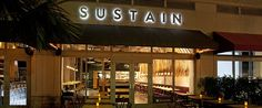 Sustain Restaurant in Miami - Healthy cuisine with a contempo twist South Florida, Restaurant Bar, Sustainability, Miami, Hot Spots, Pure Products, Architecture, Farmers, Healthy Eats