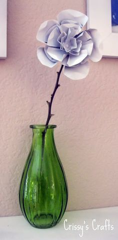 metal flowers from pop cans -- step by step