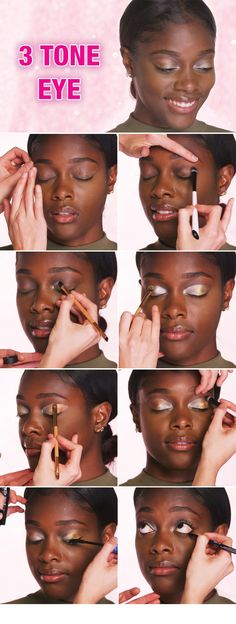 Need some shimmer this season? Our metallic eyeshadow tutorial will help you create a gorgeous makeup look using gold, silver and bronze.