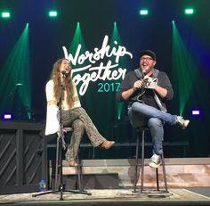2/3/17 Lauren Daigle on stage at Worship Together. #laurendaigle #worshiptogether