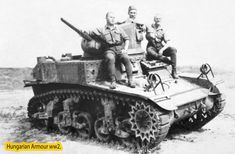 Captured USA Stuart in Hungarian hand. Model Tanks, Defence Force, Military Equipment, Luftwaffe, Armored Vehicles, Skin So Soft, World War Ii, Hungary, Military Vehicles