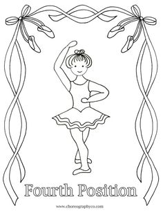 Pin by danceFITstudio on Ballerina Coloring Pages