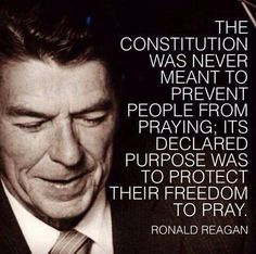 The Constitution is about protecting the right to religious freedom