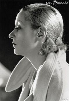 Greta Garbo, en 1931.