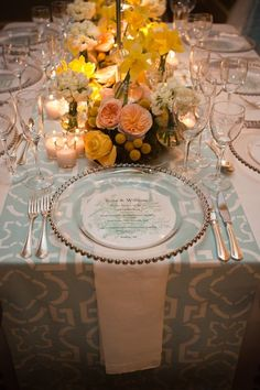 1000 Images About Weddings Place Settings On Pinterest