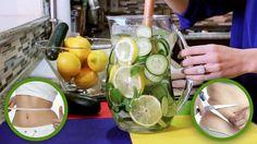 Água de Limão com Gengibre e Pepino Reduz Peso e Barriga em 5 dias   Dicas de Saúde