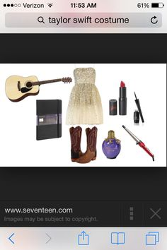 Cute Taylor Swift costume idea for g
