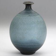Harrison Mcintosh Glazed Stoneware Bottle