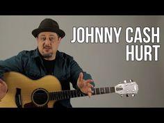 Johnny Cash - Hurt Guitar Lesson - Nine Inch Nails - Trent Reznor Guitar Lessons For Kids, Guitar Songs For Beginners, Music Lessons, Nine Inch Nails, Easy Guitar, Guitar Tips, Johnny Cash, Hurt Johnny, Fingerstyle Guitar