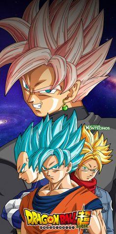 Revelado el diseño de Black Goku en Super Saiyajin para el Anime Dragon Ball Super.