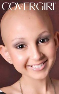 12-year-old cancer patient says no to wigs, yes to awesome makeup tutorials. we love it!