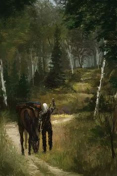 A Grain of Truth 2 - The Witcher 3 by on DeviantArt The Witcher Wild Hunt, The Witcher Game, The Witcher Geralt, The Witcher Books, Witcher Art, Ciri, Medieval Fantasy, Dark Fantasy, Fantasy Art