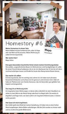 Mayos Homestory: eine Wohnung voller Erinnerungen #homestory #homestoryde #home #interior #design #inspiring #creative #mayovelvo #chansonnier #music