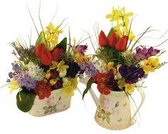 """""""Garden"""" si primavara 1 si 2 - Aranjament cu flori artificiale"""