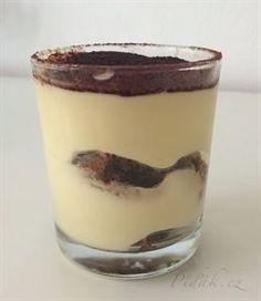 Picture of Recept - Fantastické Tiramisu - pohárová varianta Sweet Bar, Ice Cream Candy, Something Sweet, Cake Cookies, No Bake Cake, Nutella, Baked Goods, Tiramisu, Cookie Recipes
