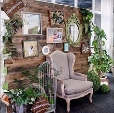53 Trendy Ideas For Wedding Rustic Chic Diy Photo Booths Diy Photo Booth, Wedding Photo Booth, Photo Booth Backdrop, Photo Booths, Photo Zone, Photo Corners, Vintage Party, Partys, Backdrops For Parties